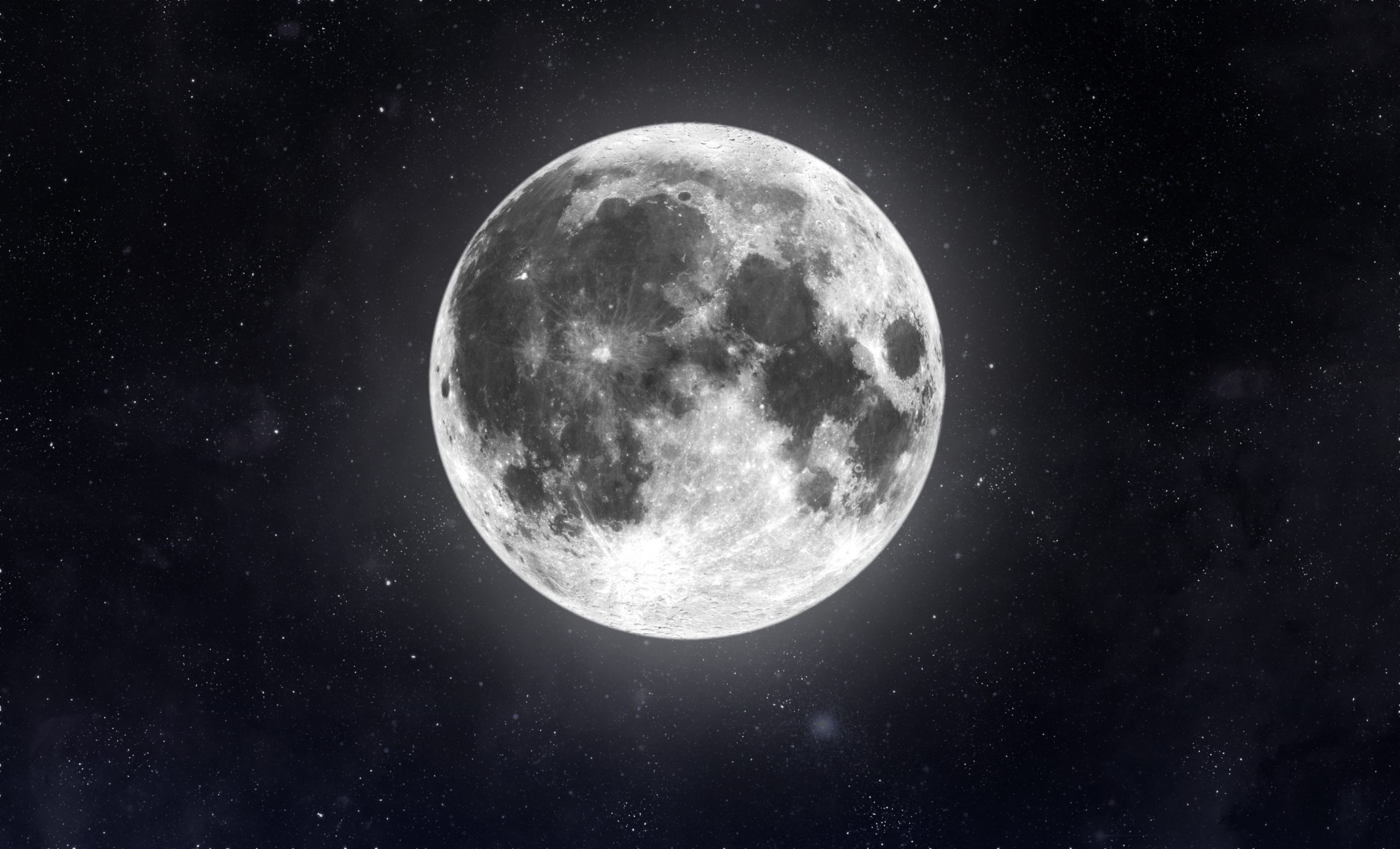 Moon in space.  Elements of this image furnished by NASA